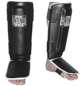 synthetic leather shin guards for muay thai