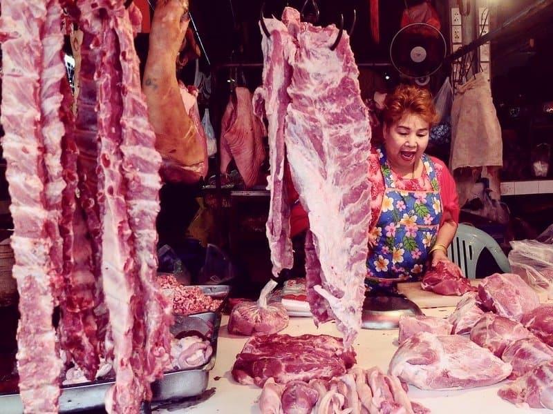 bangkok khlong toey market