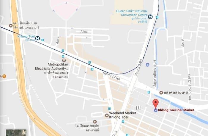 klong toey market map
