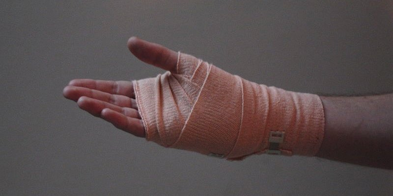 muay thai hand injury