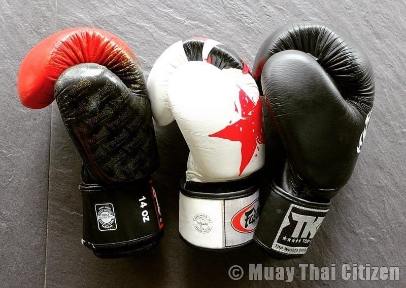 best muay thai gloves