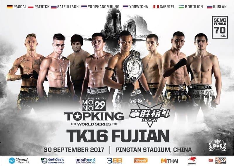 top king semi-finals 70 kg
