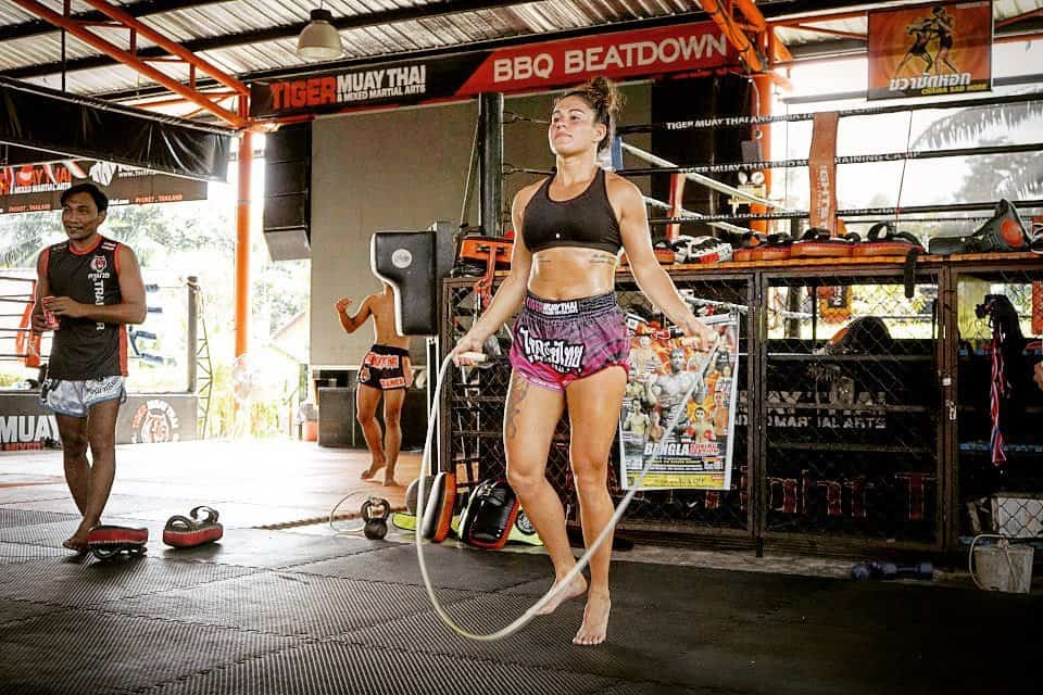 muay thai jump rope