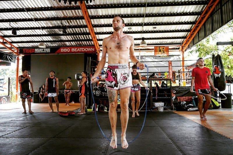 muay thai jump rope
