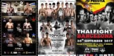 Muay Thai Triple Treat: All-Star Fight, Top King and Thai Fight on the same day