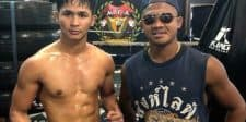 Superbon Back Training at Muay Thai Academy For KLF 76