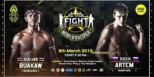 Buakaw vs Pashporin to Headline All Star Fight World Soldier