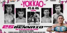 Saenchai, Singdam to headline Yokkao 45-46 in Italy