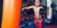 Muay Thai Heavy Bag for Kids