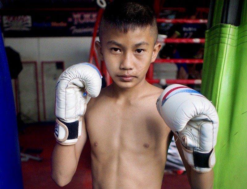 kids muay thai gloves