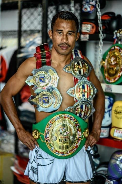 muay thai championship belts