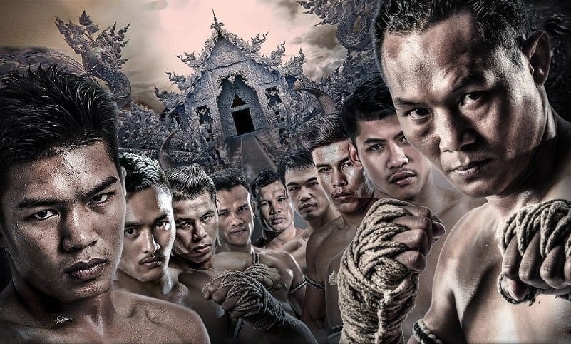 Muay Thai ropes