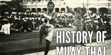 Blessed with Venom: History of Muay Thai
