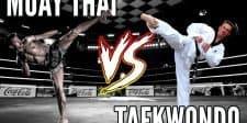 Muay Thai Vs Taekwondo