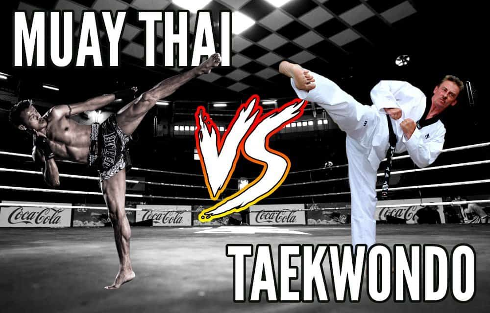 muay thai vs taekwondo