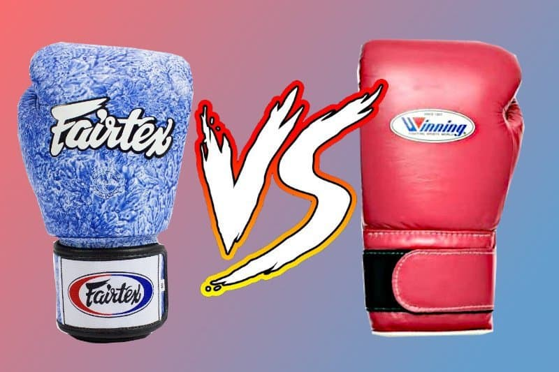 muay thai gloves vs boxing gloves