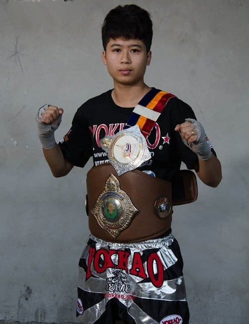 muay thai female