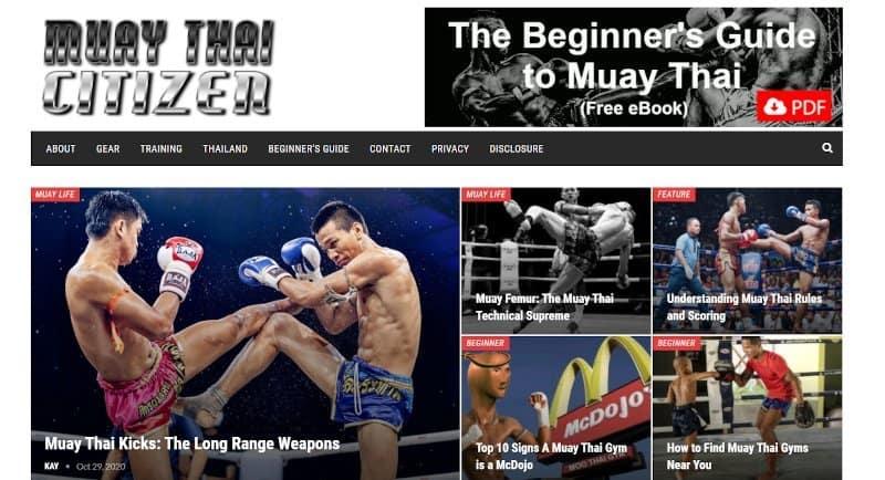 muay thai citizen blog