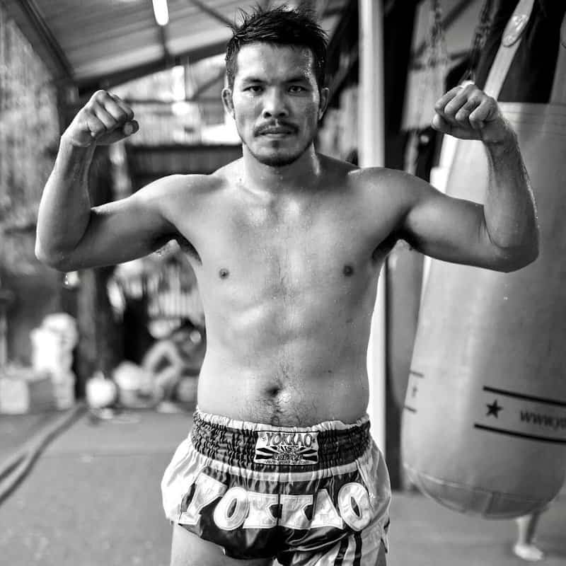 build muscle with muay thai