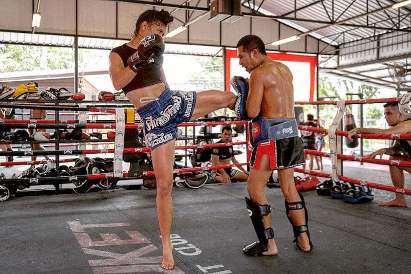 muay thai for fitness