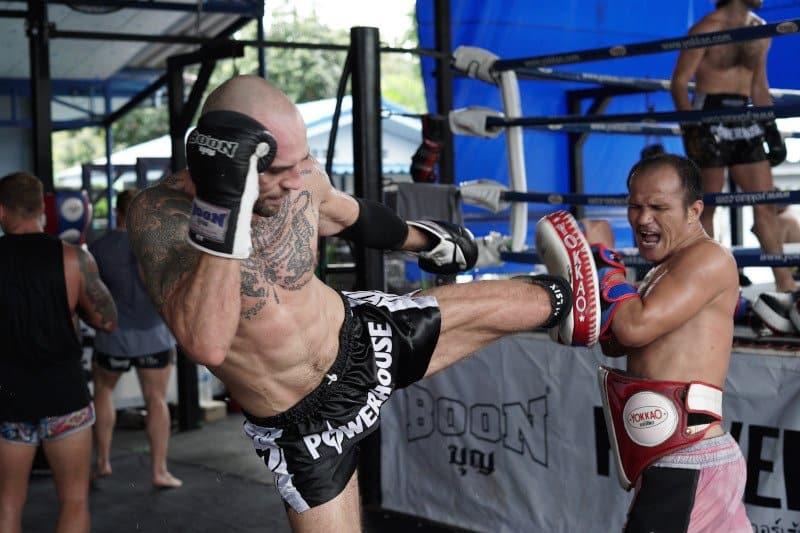 where to train muay thai in phuket