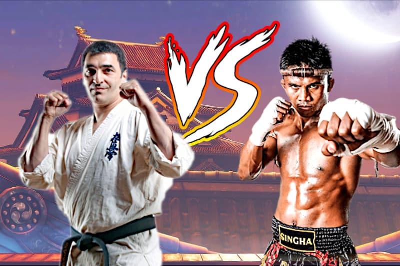 muay thai vs kyokushin karate